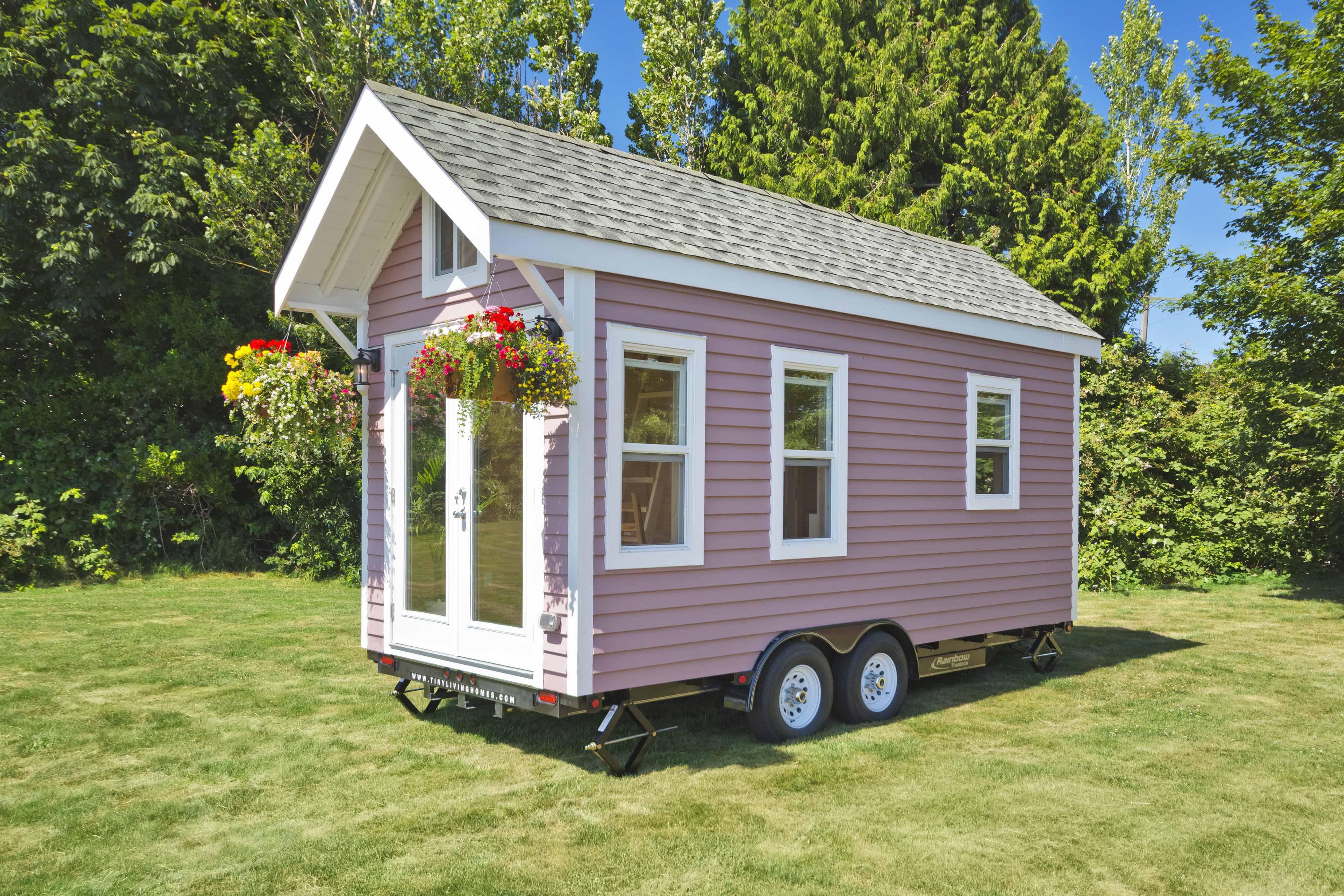 Casa pequeña rosa