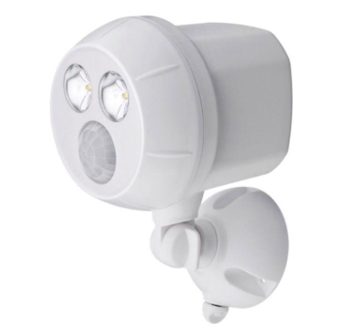 Mr. Beams Weatherproof Wireless Battery Powered LED Motion Sensor