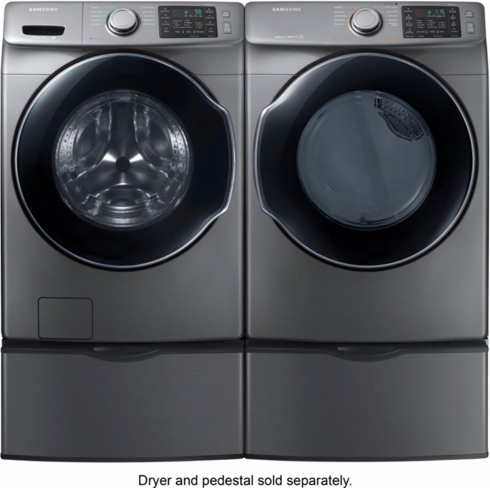 Best Overall Samsung Wf45m5500ap Washer And Dve45m5500p Dryer With Steam