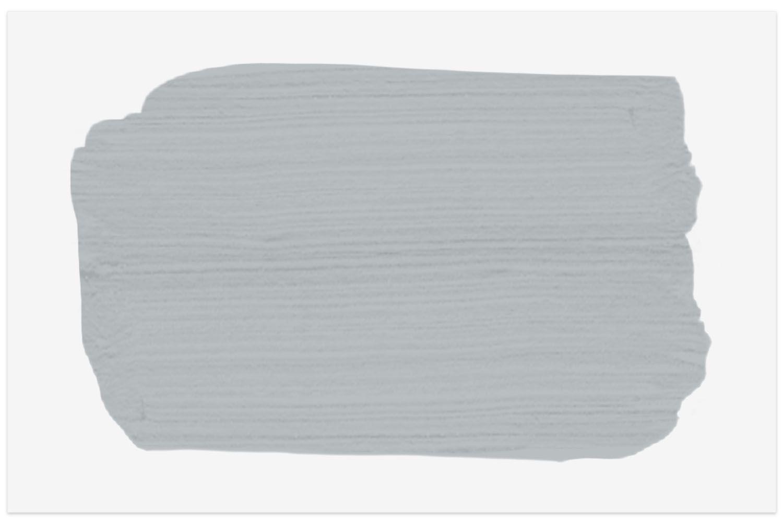Benjamin Moore Thundercloud Gray paint swatch