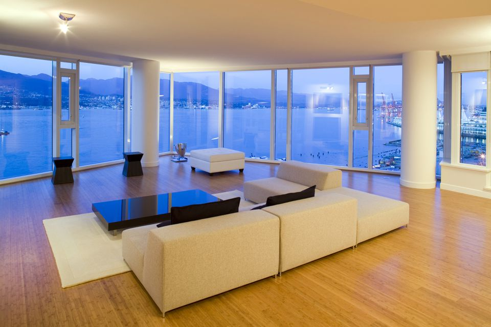 Luxury condo with bamboo floors
