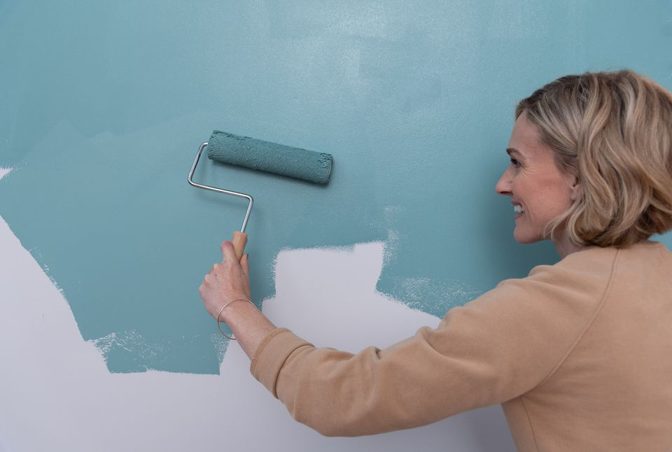 How To Paint With A Roller