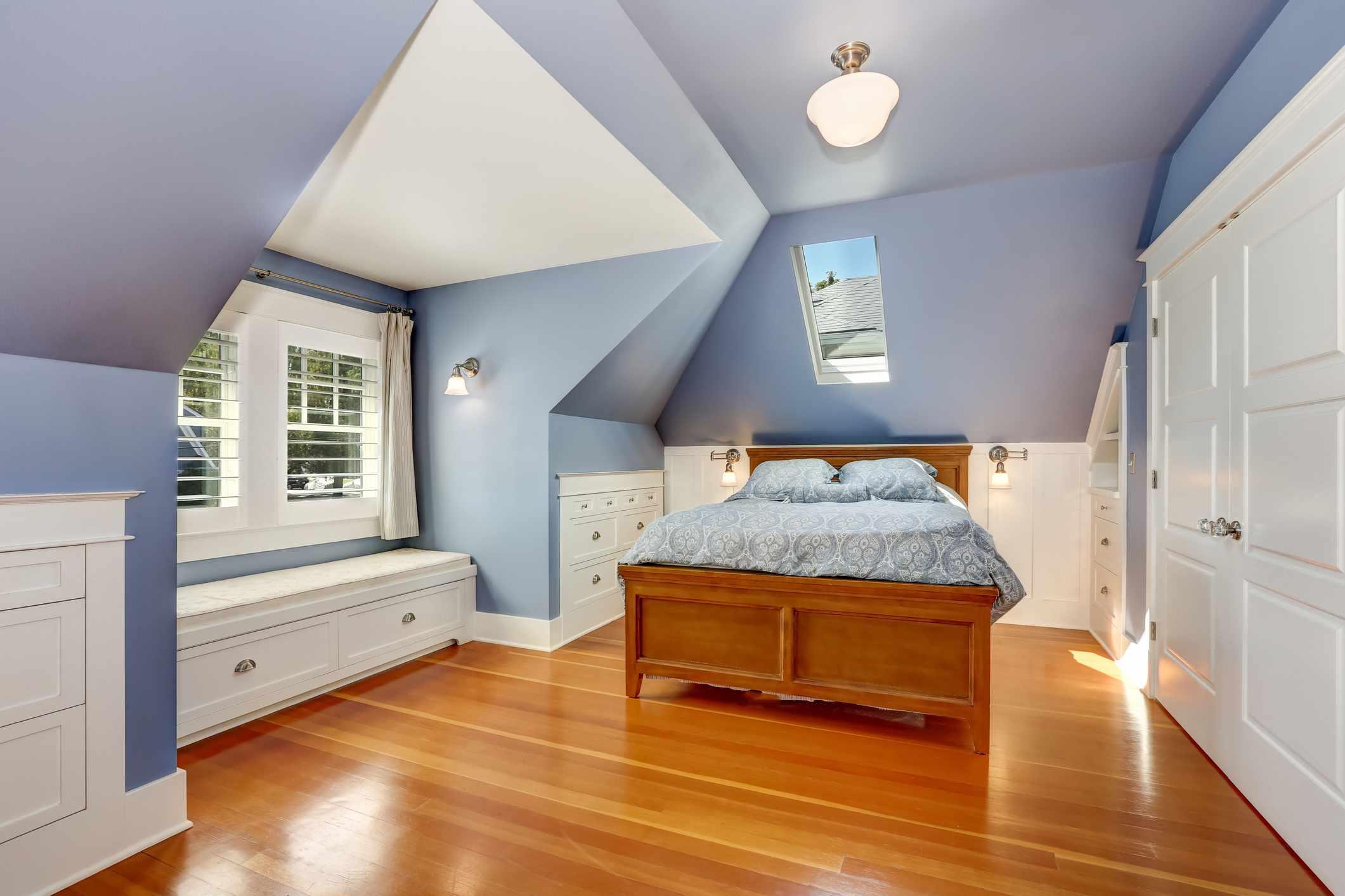 Furnished attic