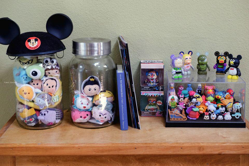 Ideas de almacenamiento y exhibición de Disney Tsum Tsum