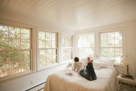 Why You Shouldn't Place A Bed Under A Window Magnificent Windows For Bedroom