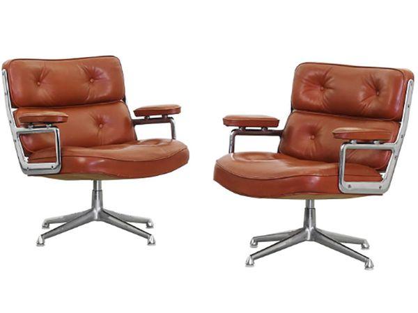 Eames Lobby Chairs, c. 1960