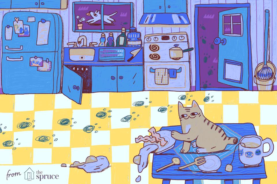 illustration of linoleum floors