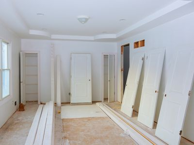 Construction home doors
