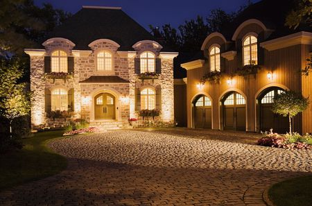 Landscape lighting how to show off your nighttime curb appeal aloadofball Images