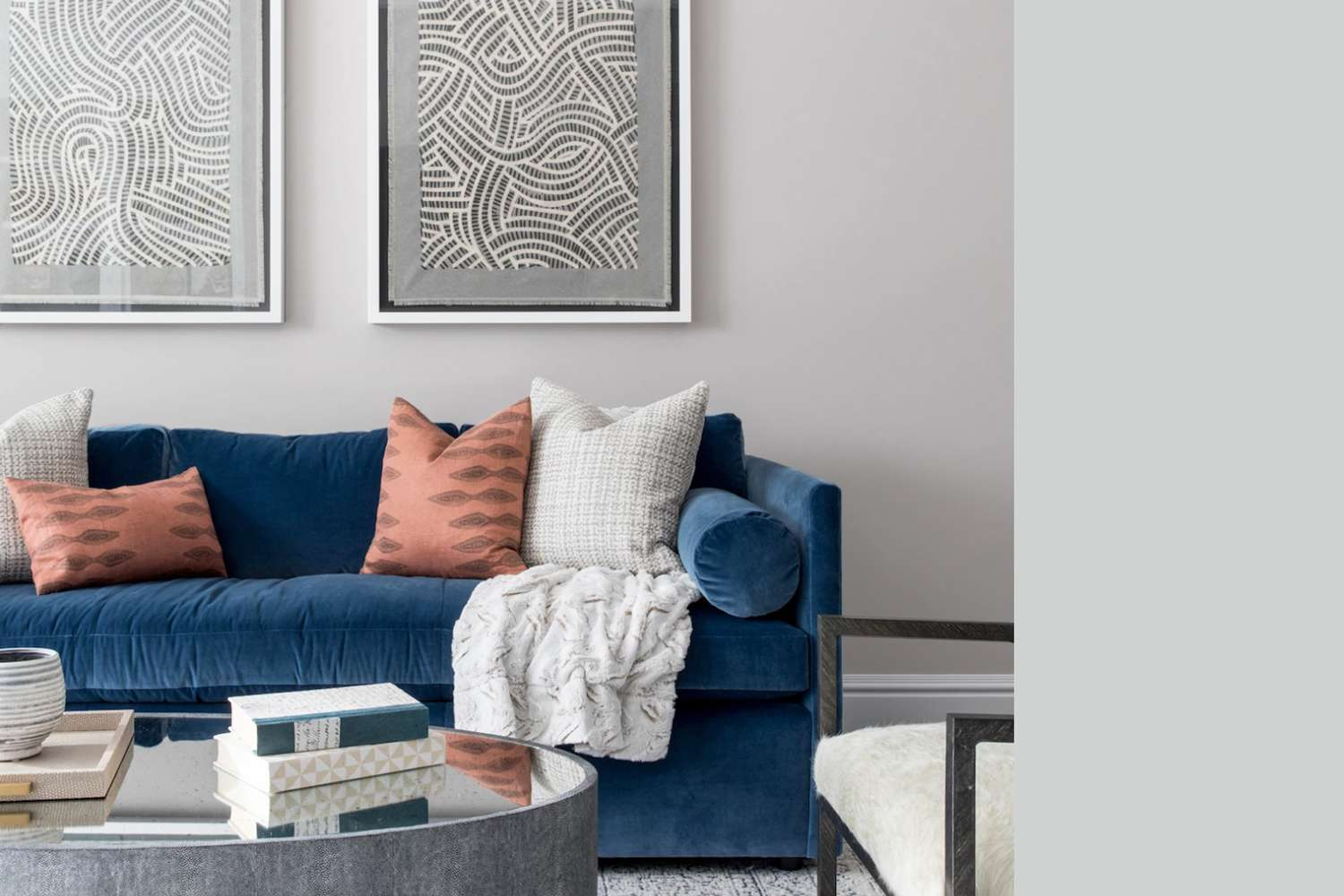 Interior painted a similar color to Behr Double Click