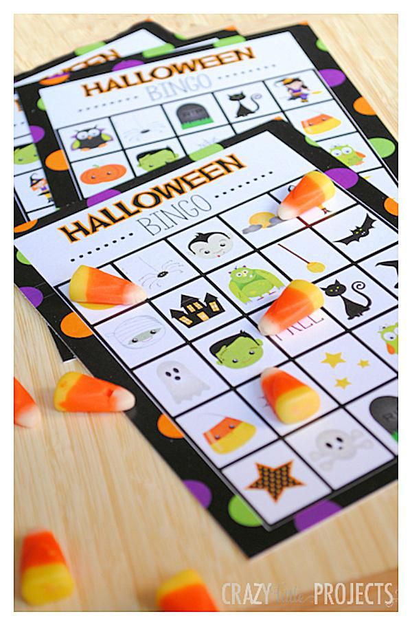 23 sets of free printable halloween bingo cards