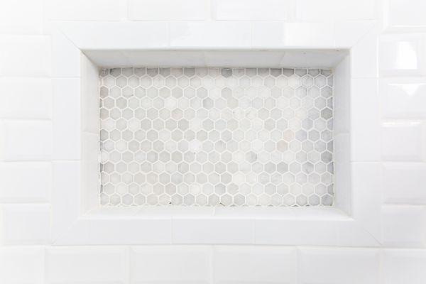 closeup of tile