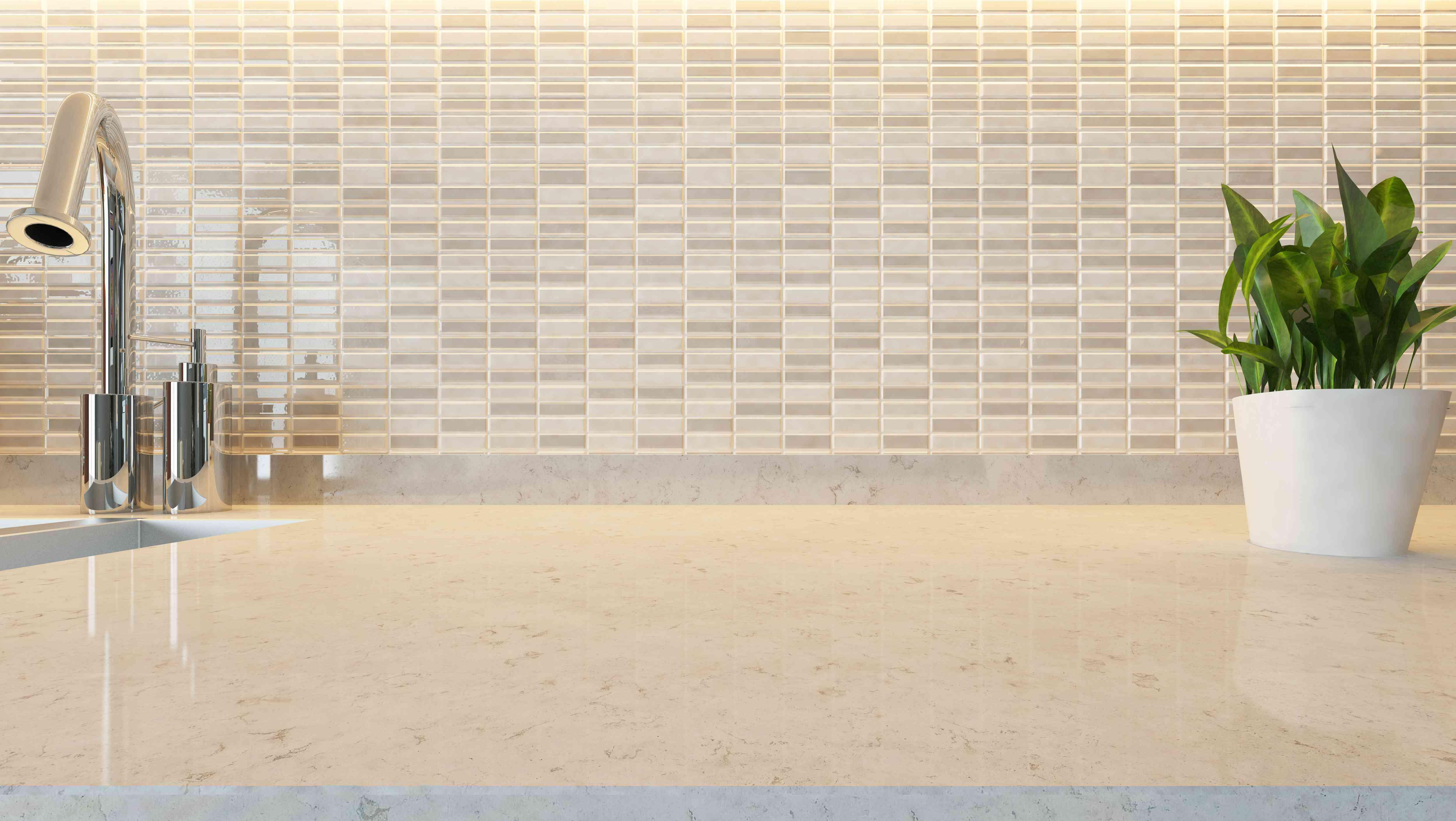 white ceramic modern kitchen design background