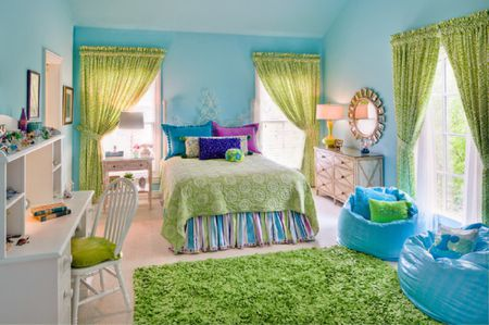 Decorating Your Bedroom With Green Blue And Purple Stunning Purple And Green Bedroom