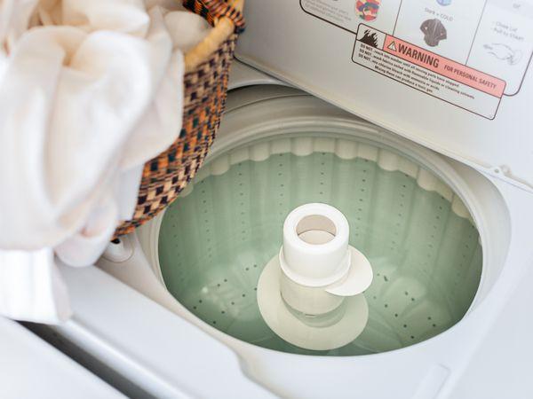 full washing machine unable to drain