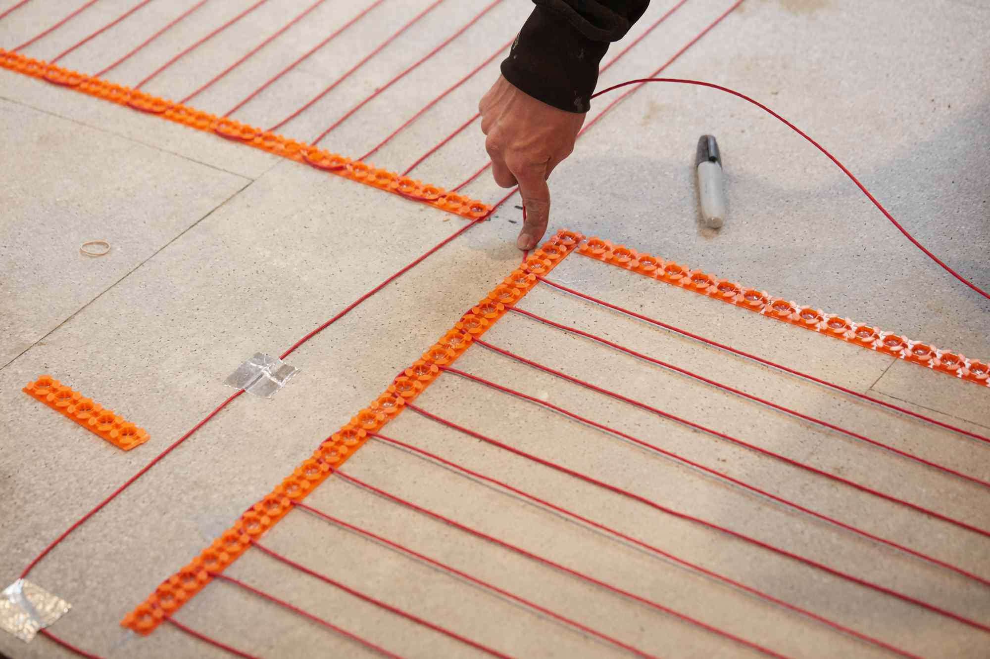 Attach Wires to Track