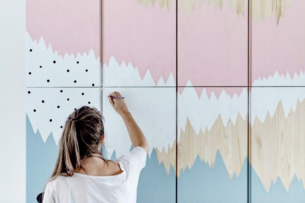 Ikea Ideas Mural Ivar