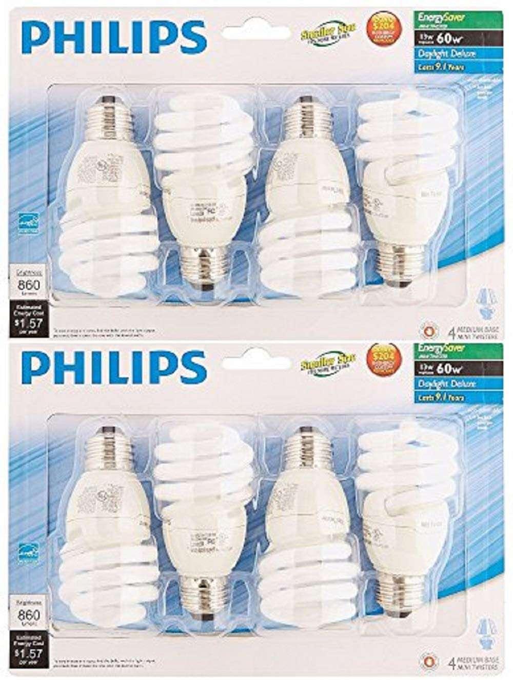 CFL Twister Light Bulbs
