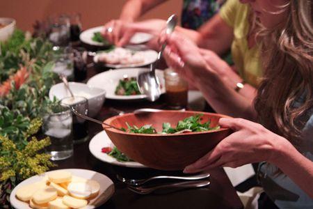 a parisian style progressive dinner party