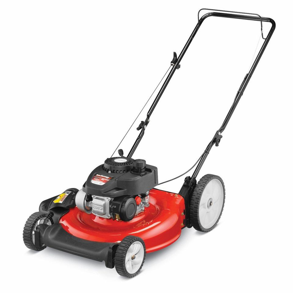 Yard push mower