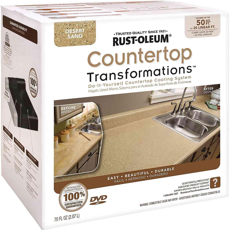 Rust-Oleum 258286 Countertop Transformations Kit, Large Kit