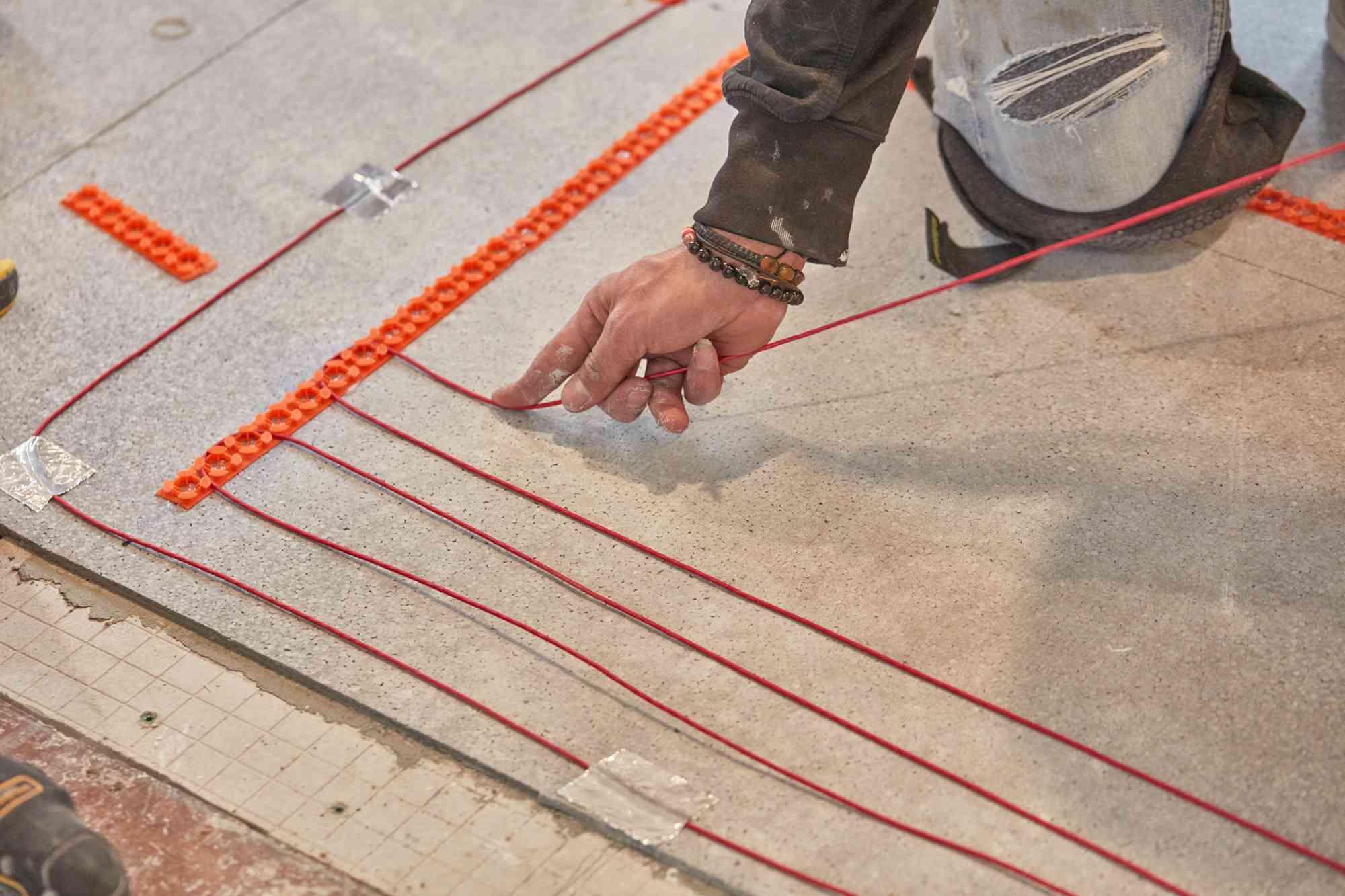 Run Wires Between Tracks