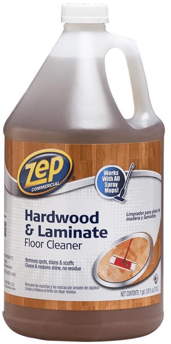 Zep Commercial Hardwood and Laminate 128 fl oz Hardwood Floor Cleaner