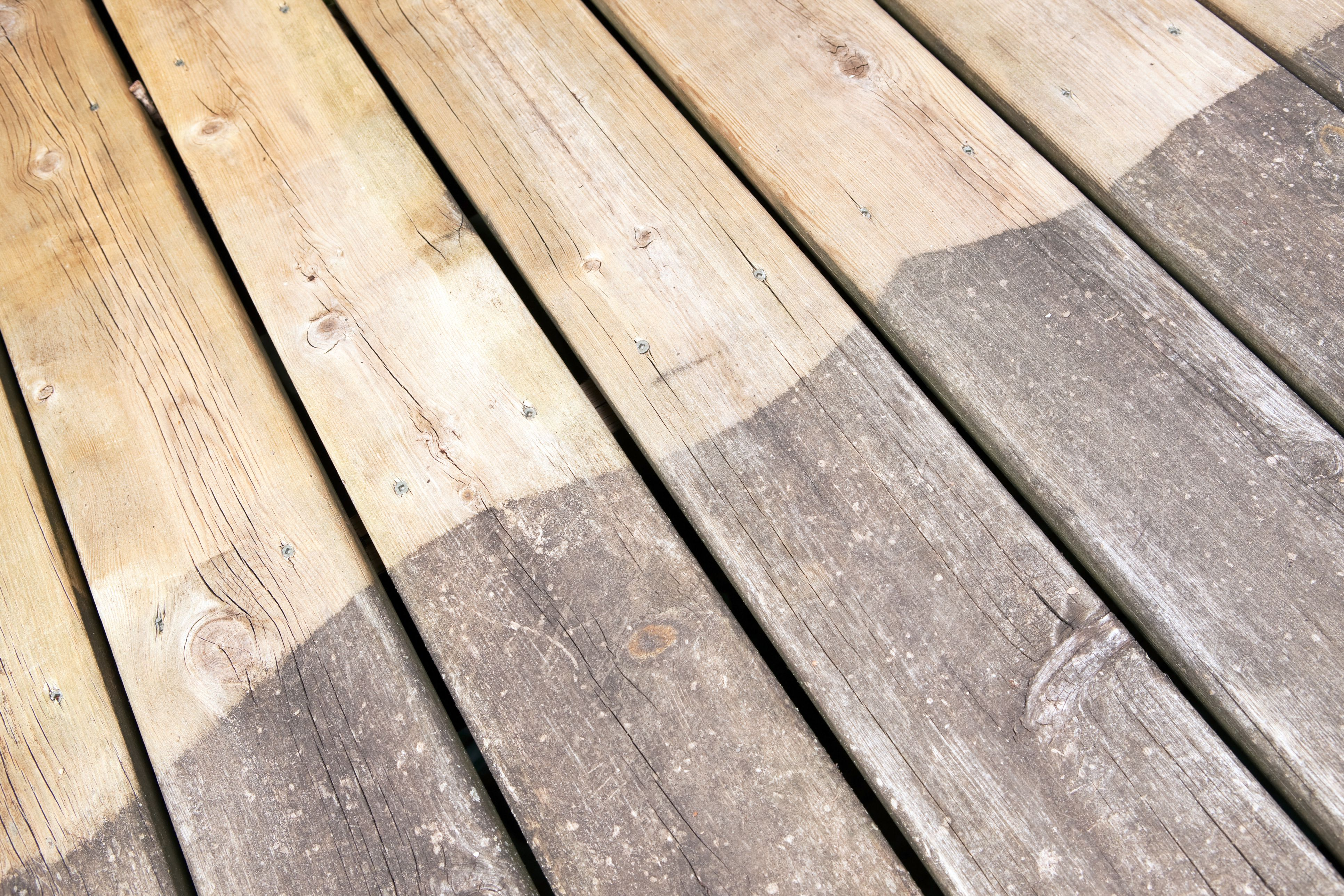 How To Pressure Wash A Wood Deck