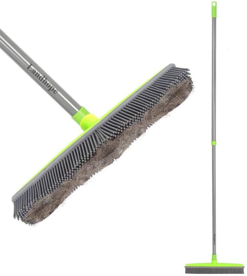 LandHope Rubber Bristle Sweeper