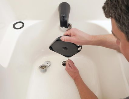 How To Unclog A Bathroom Sink Drain With A Snake - Clogged bathroom sink drain snake