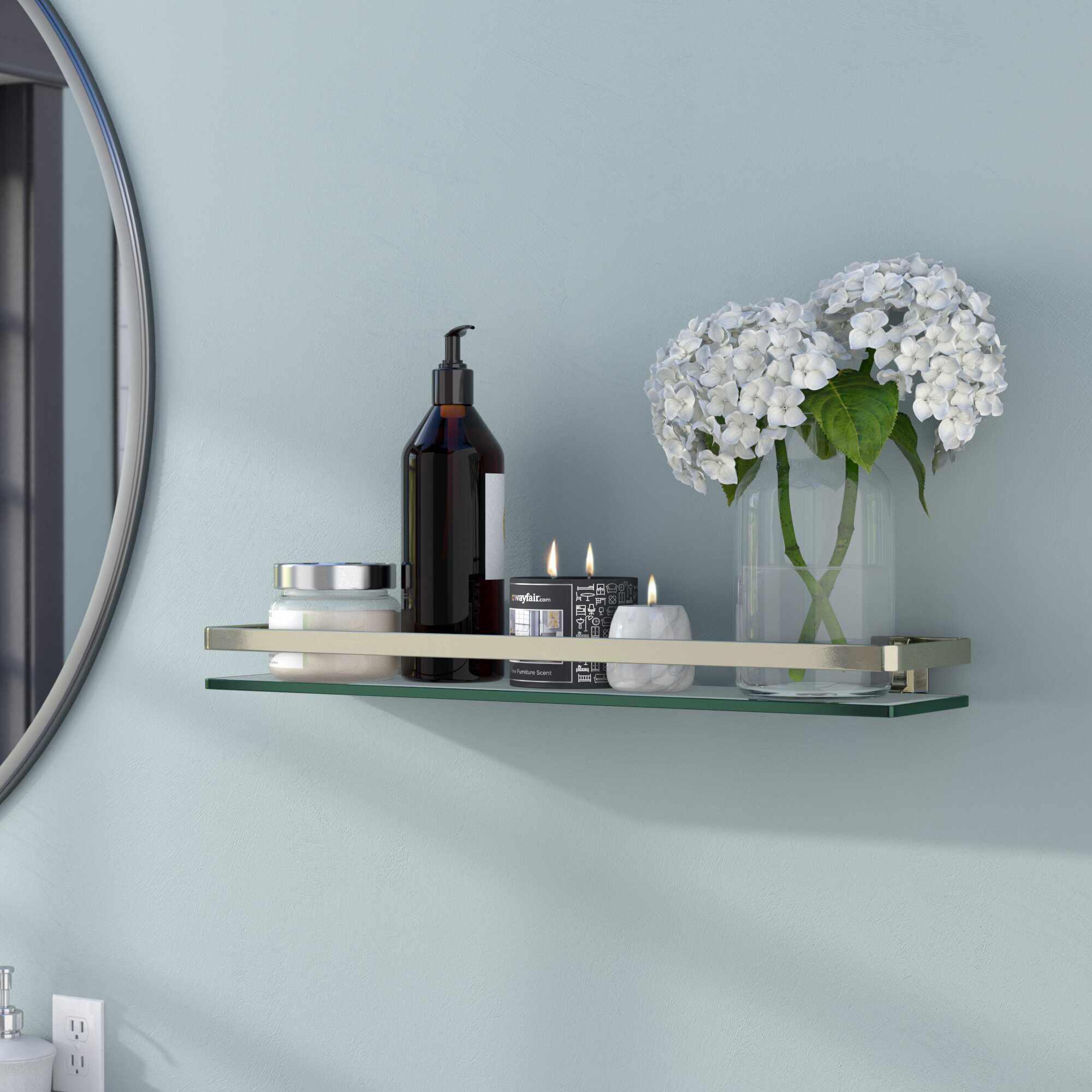 Ebern Designs Akeeyla Wall Shelf