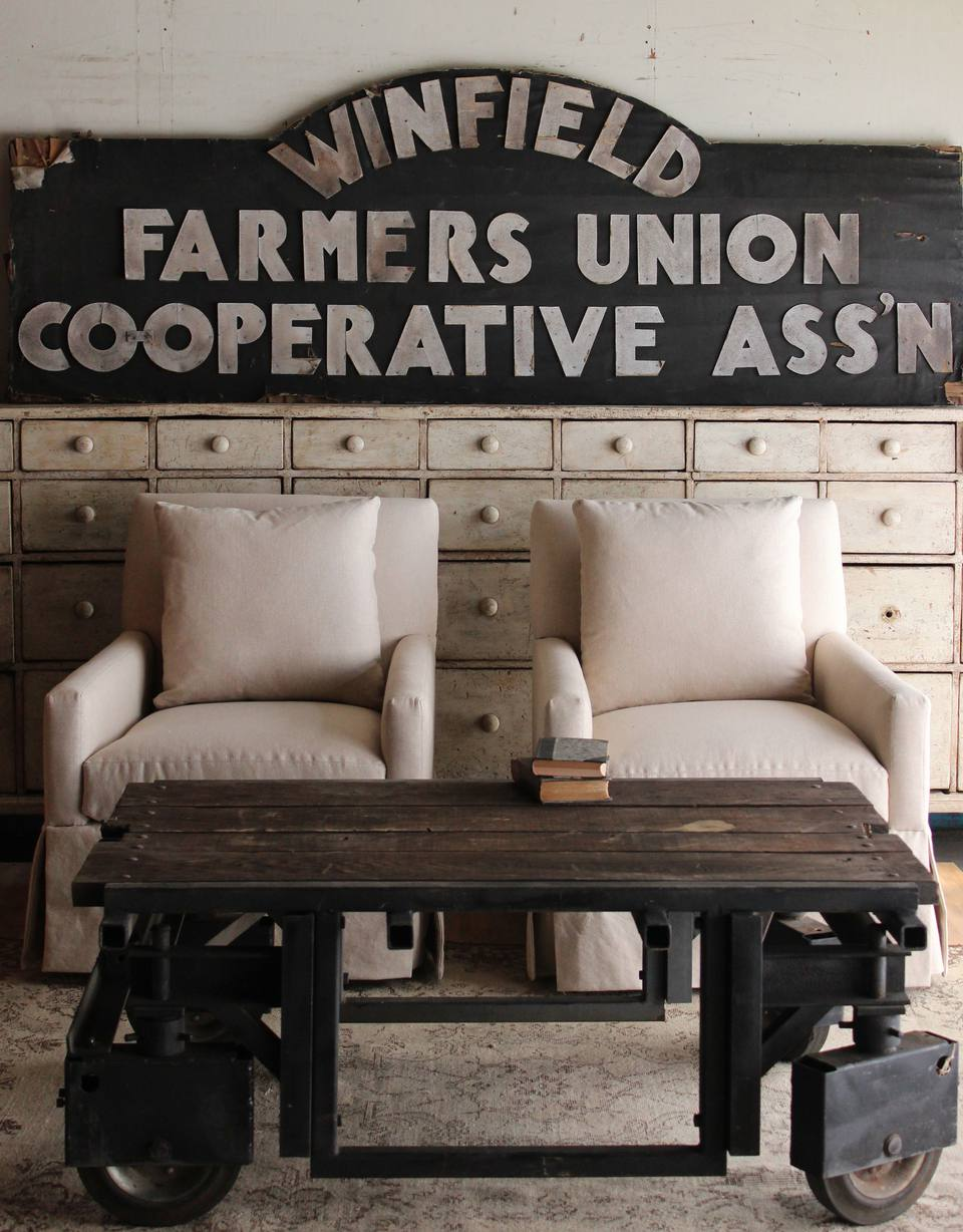 How to Decorate Your Home With Vintage Signs