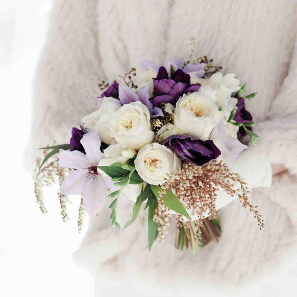 Hellebore Winter Wedding Bouquet