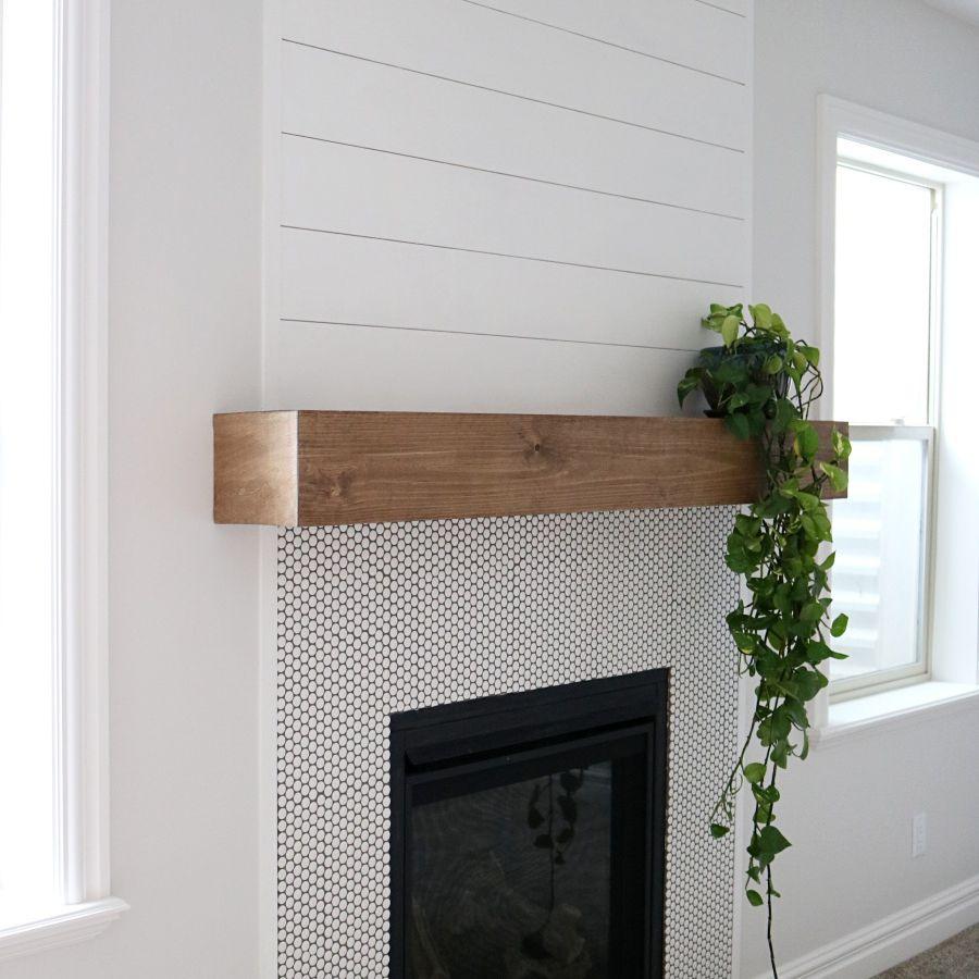 20 DIY Fireplace Mantel Plans