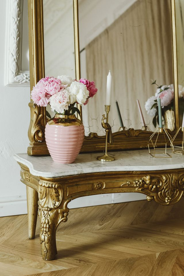 gilded and ornate decor