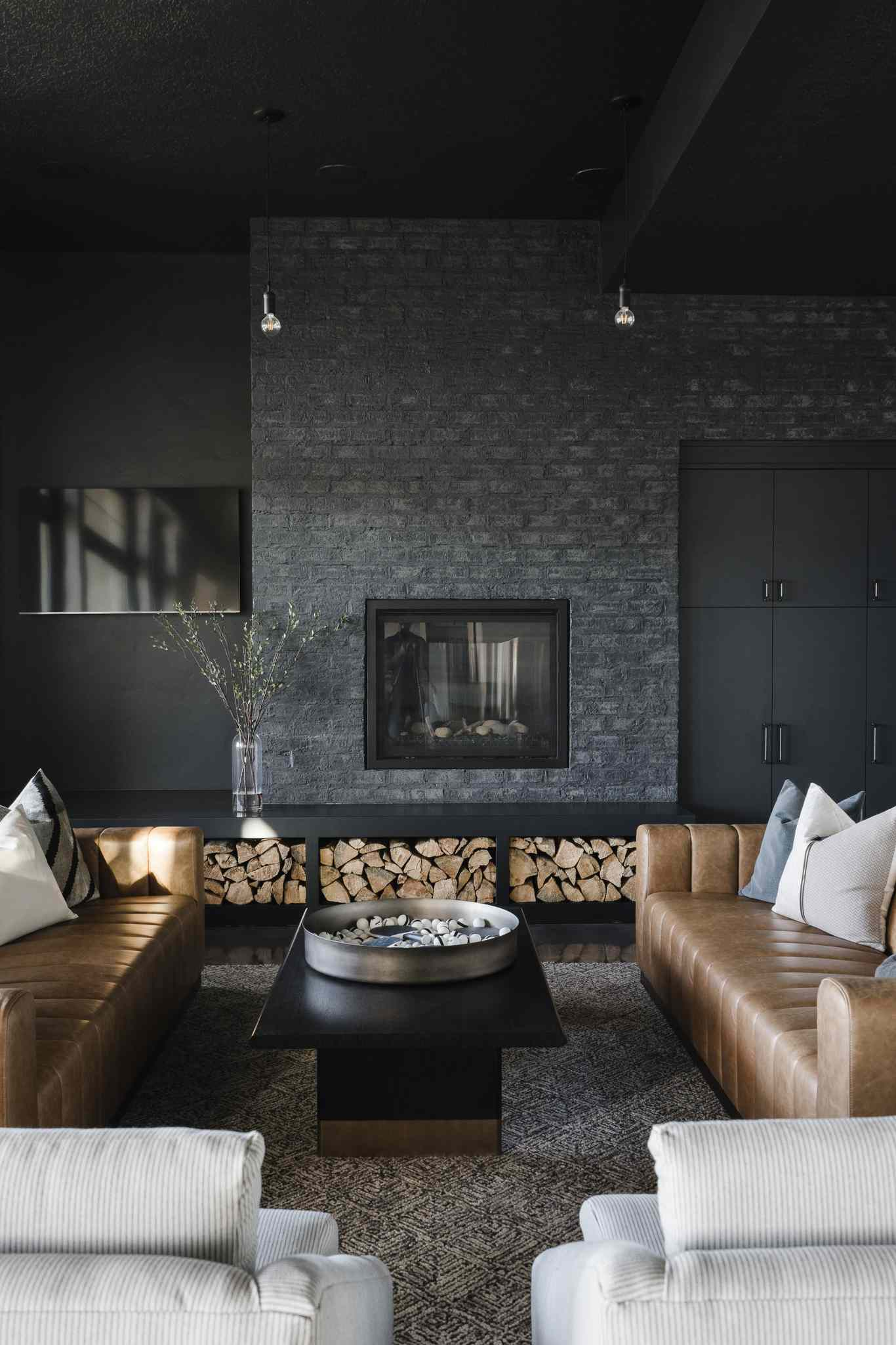 rustic glam room