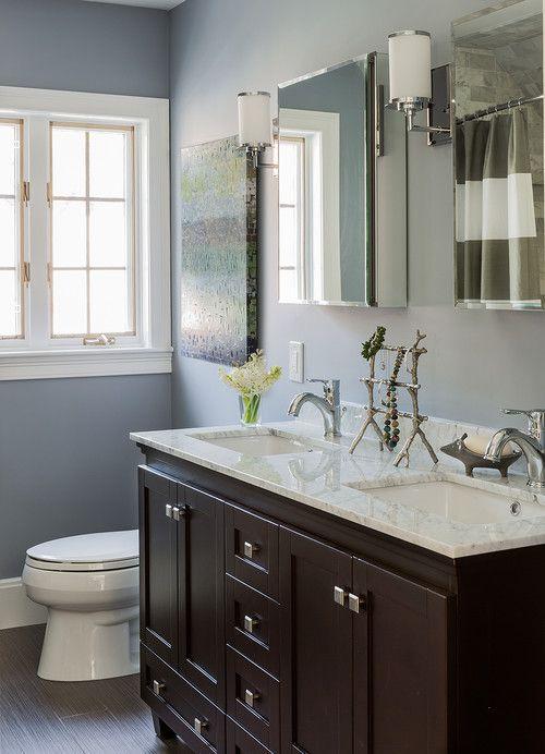 Small Bathroom With Double Vanity