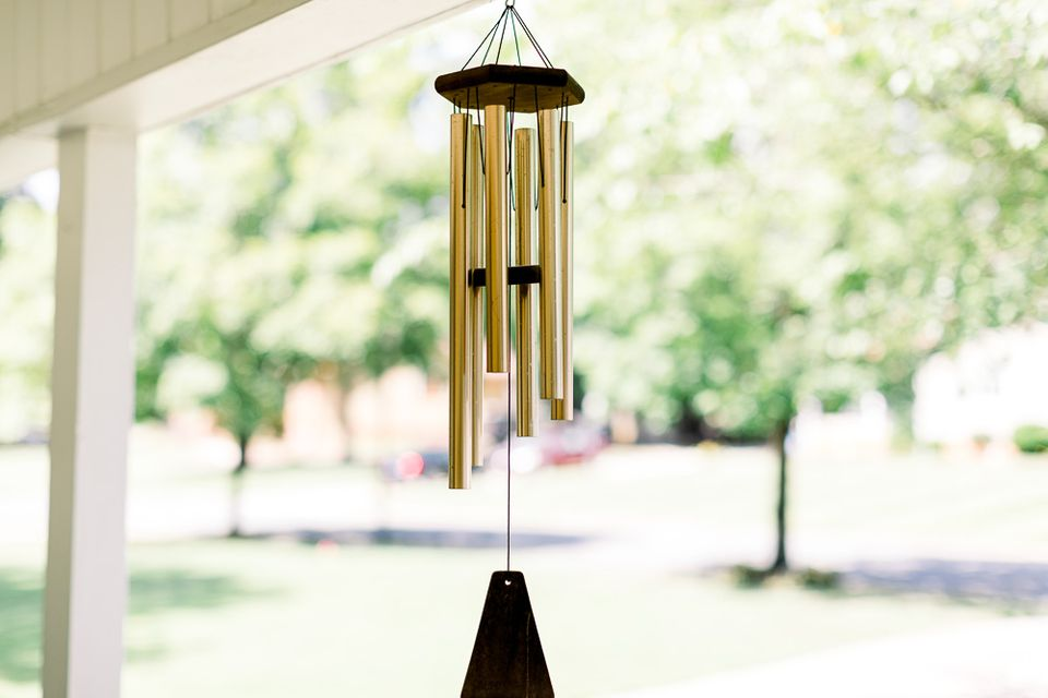 wind chimes used in feng shui