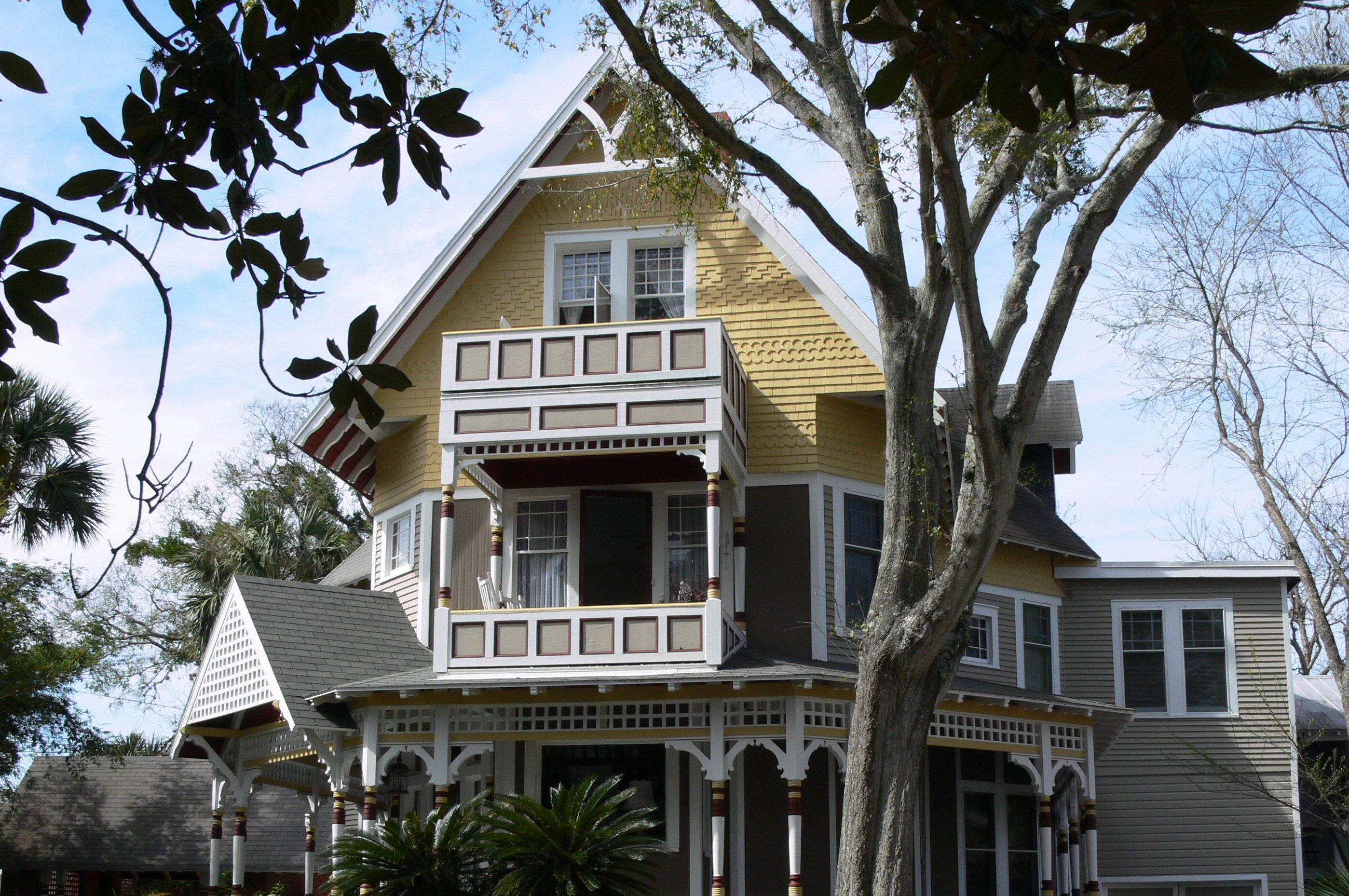 Victorian home in St. Augustine, Florida