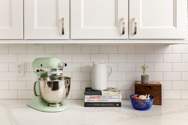 appliances used often should not be stored in kitchen cabinets