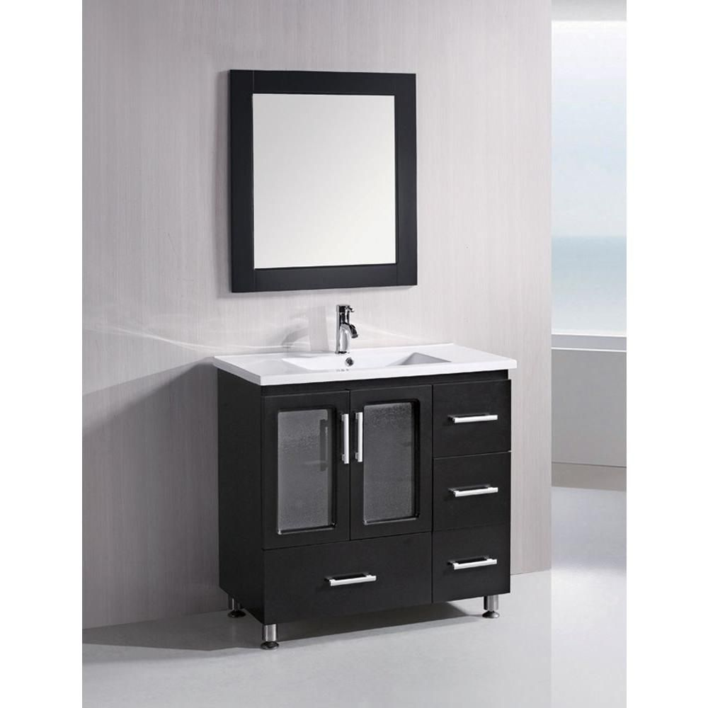 Lovely 18 Deep Vanity Cabinet