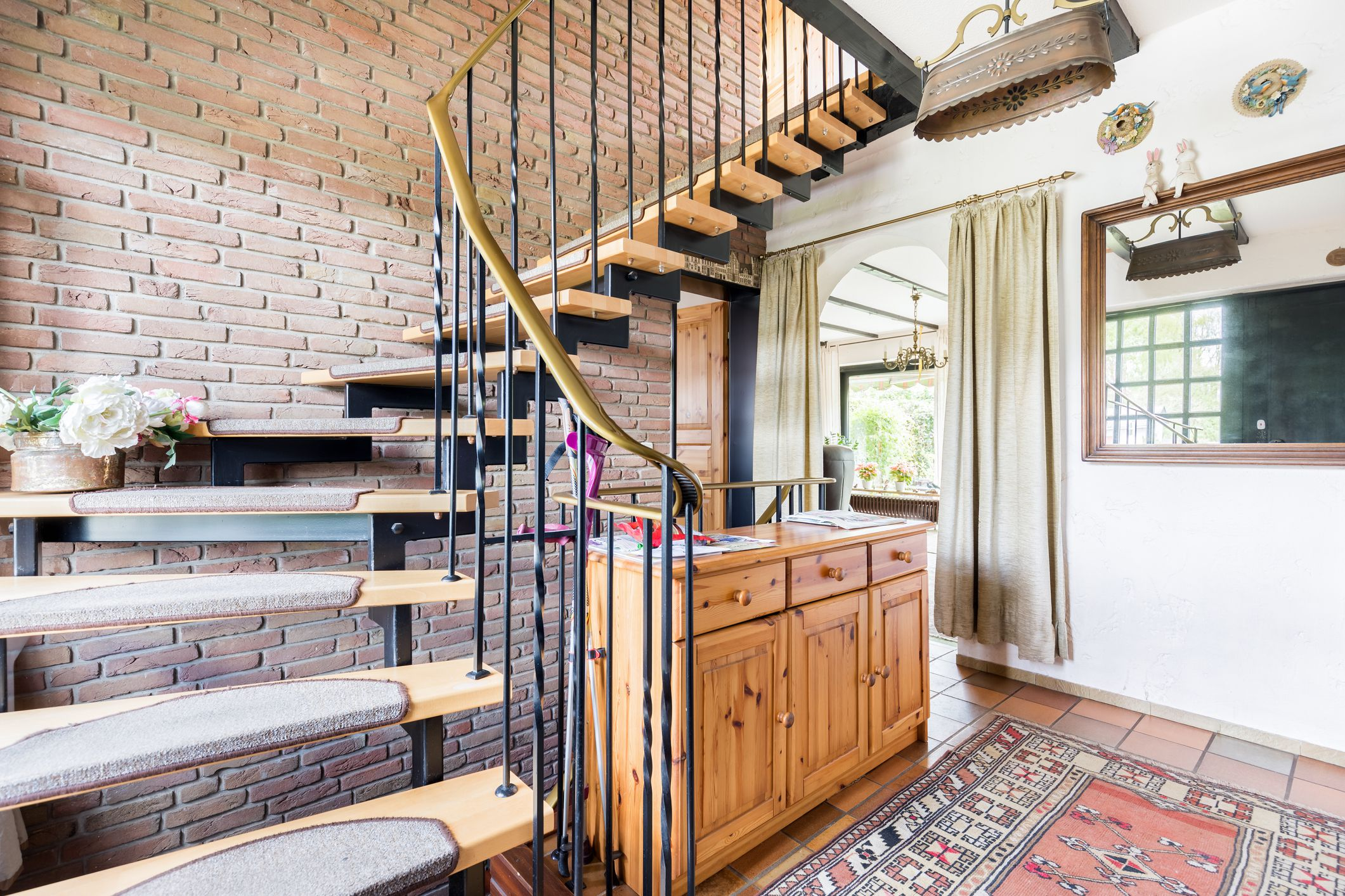 interior stair railing designs ideas and decors most.htm 4 decorative ways to dress up a stairway  4 decorative ways to dress up a stairway