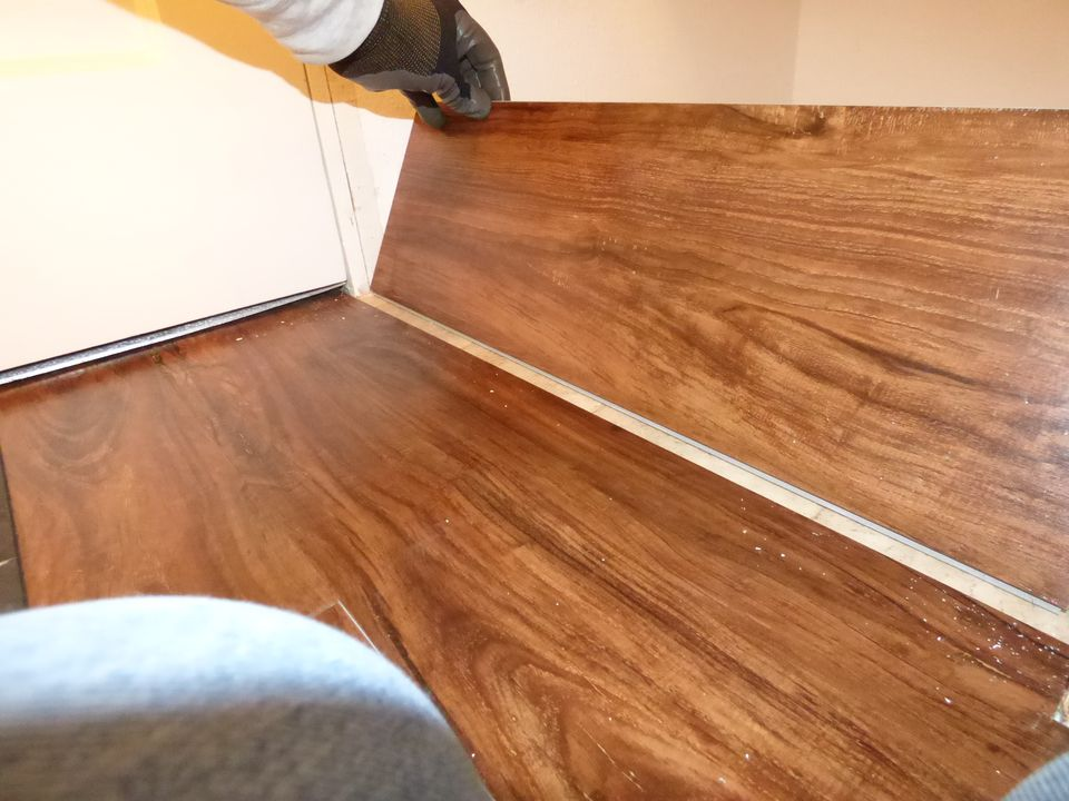 Backwards Installing Vinyl Plank