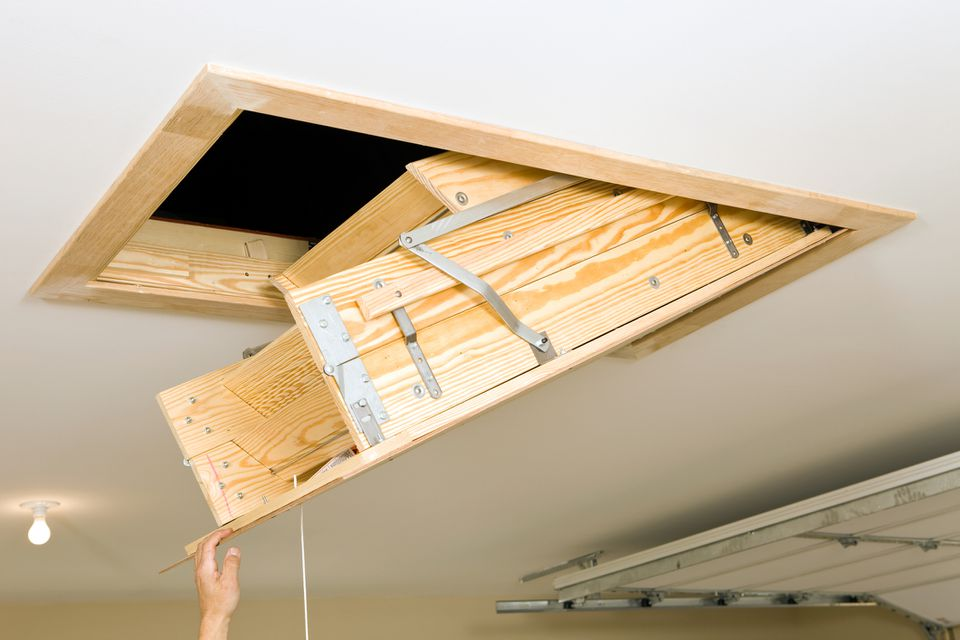 folding attic ladder