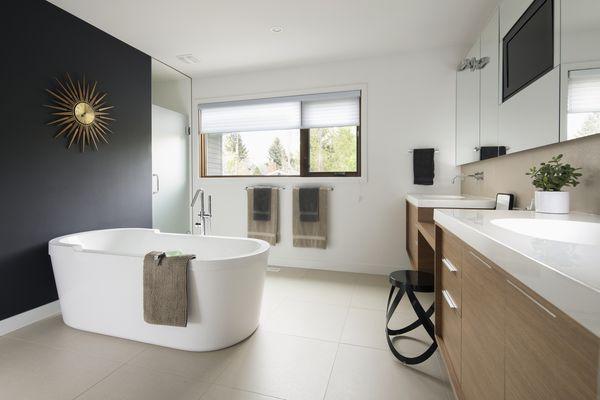 Home modern bathroom
