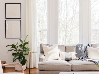 A light soaked neutral living room