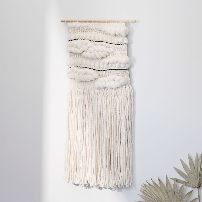 Best for Living Room: SunWoven Natural Wall Hanging