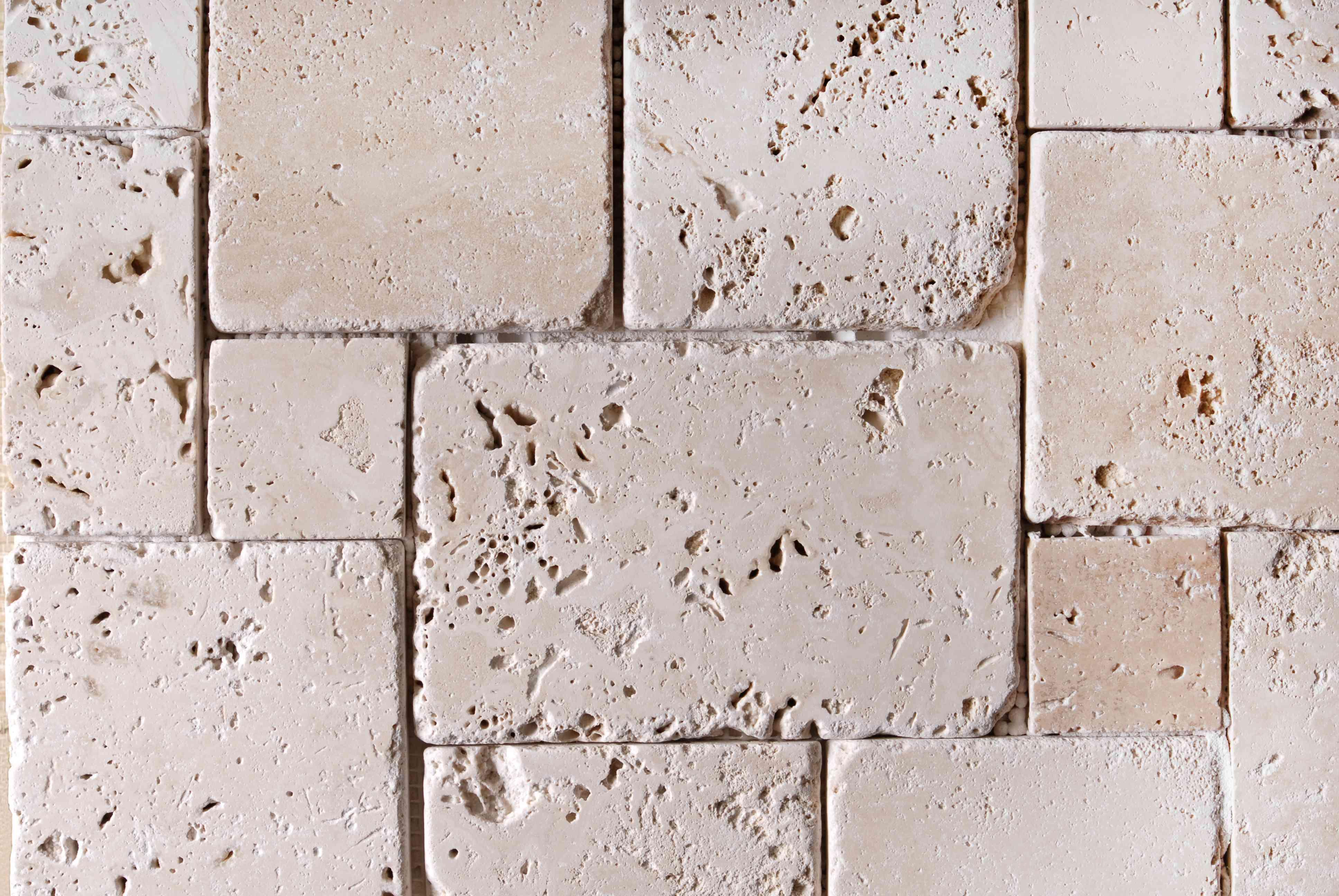 travertine tiles texture background