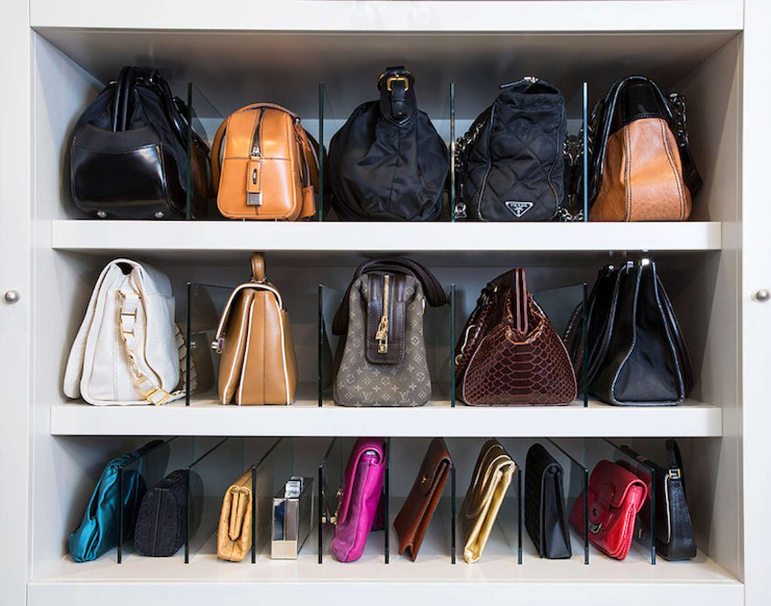 hooks for purses on wall.htm clever handbag storage ideas  clever handbag storage ideas