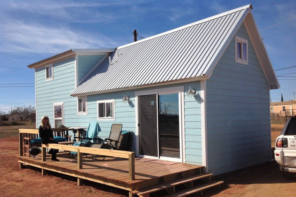 Spur, Texas is the first tiny house friendly city